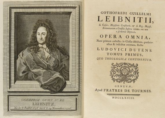 Gottfried Wilhelm Leibniz - Opera omina, 6 Bde.