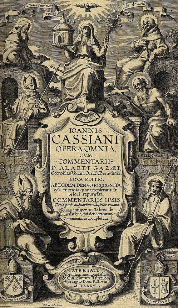 Johannes Cassianus - Opera omnia. 1628.