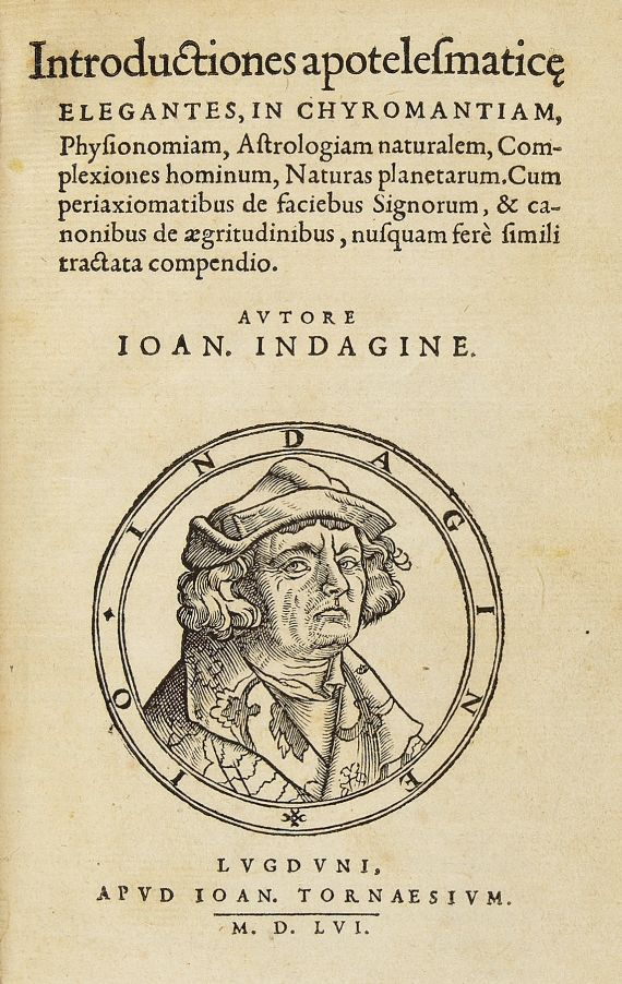Johannes Indagine - Introductiones apotelesmatice. 1156.