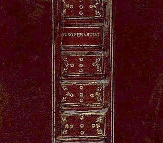 Theophrastus - Characteres ethici. 1632.