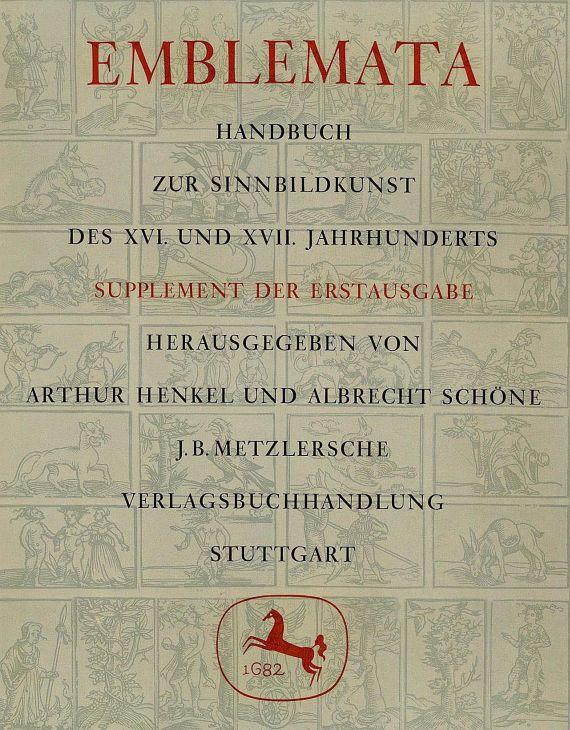 Arthur Henkel - Emblemata, 2 Bde.