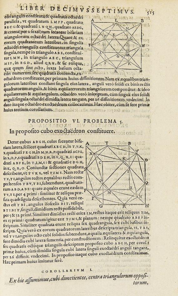 Euklid - Elementa libris XV.