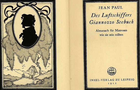 Jean Paul - Des Luftschiffers Gianozzo Seebuch