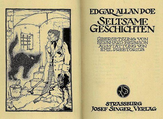 Edgar Allen Poe - Seltsame Geschichten - 1913