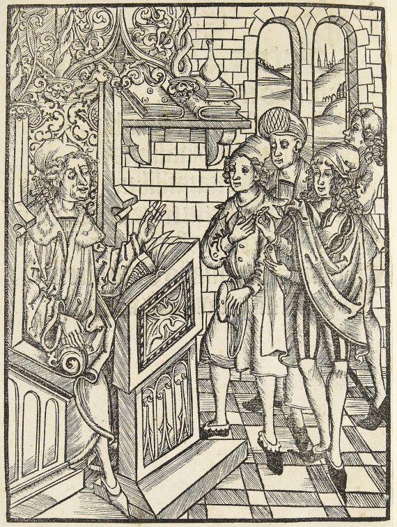 - Hortus Sanitatis. Nicht nach 1497.