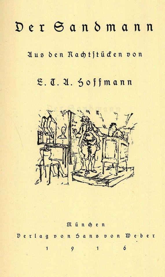 Ernst Theodor Amadeus Hoffmann - Sandmann