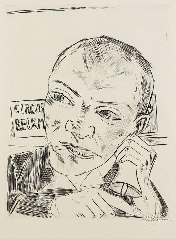 Max Beckmann - Der Jahrmarkt