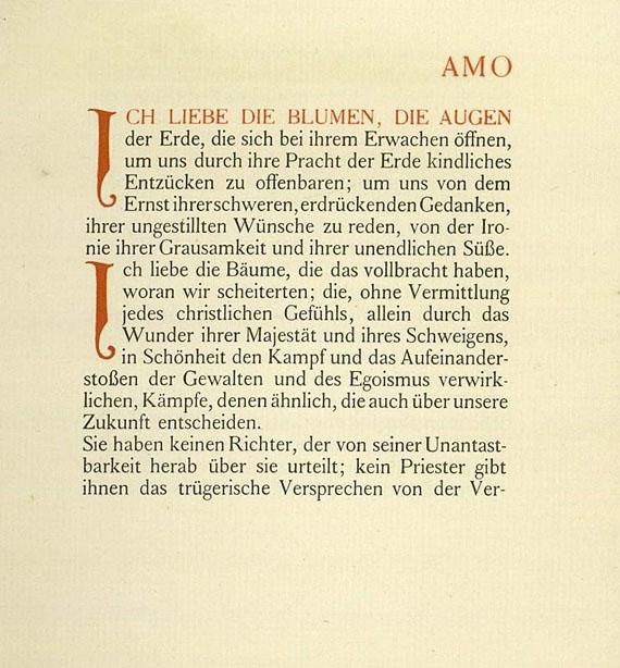 Henry van de Velde - Amo. 1909.