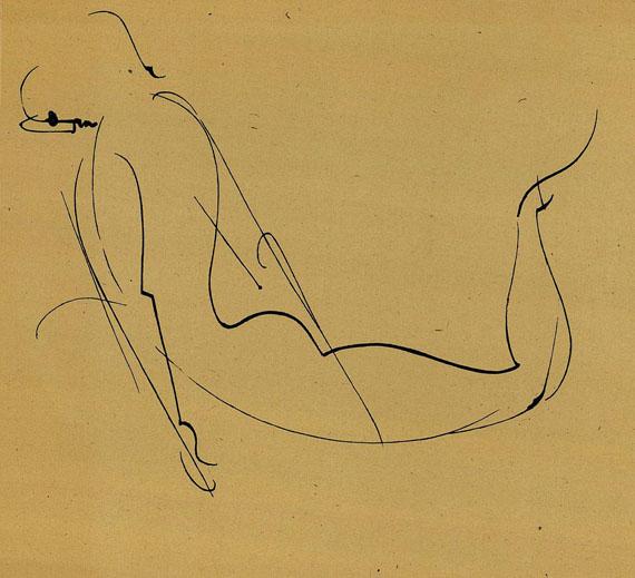 Oskar Schlemmer - 10 Zeichnungen. 1947.