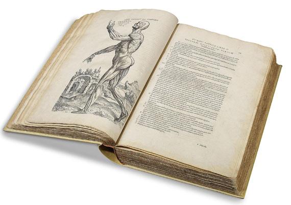 Andreas Vesalius - De humani corporis fabrica. 1555.