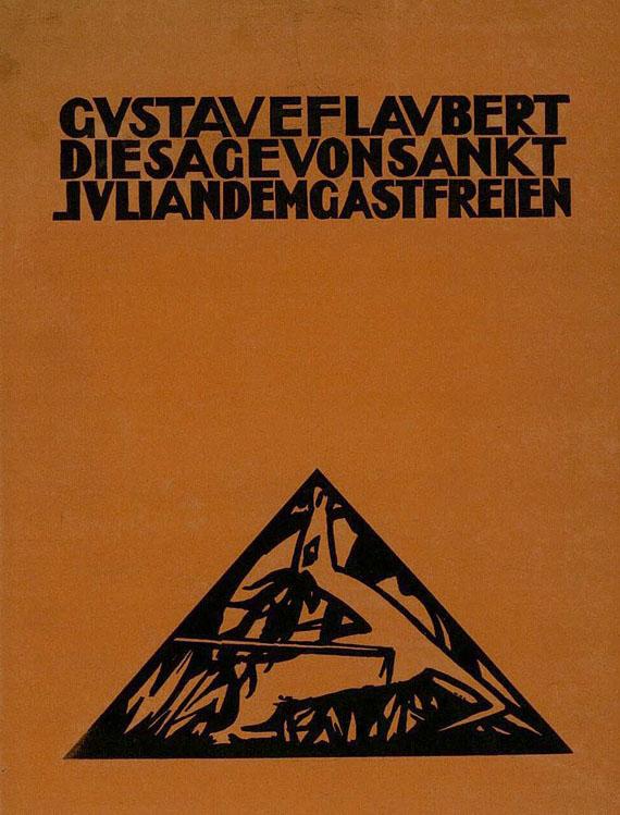 Gustave Flaubert - 2 Werke. 1918