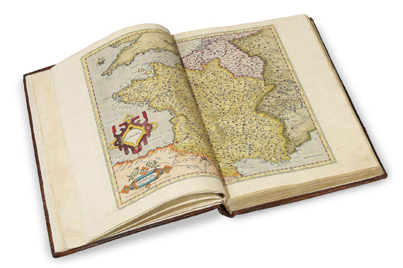 Mercator - Atlas 1585. 3 Tle. in 1 Bd.