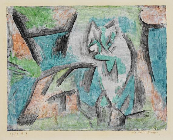 Paul Klee - Eine Art Katze