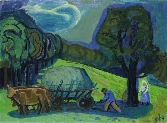 Otto Dix - Heuernte