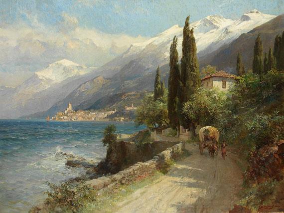 Edward Theodore Compton - Malcesine/Gardasee