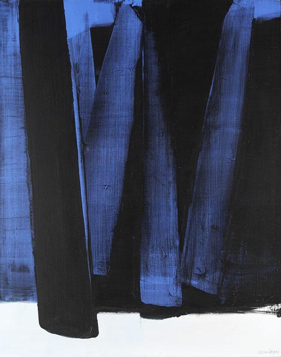 Soulages - Peinture 102 x 81 cm, 4. Mai 1981