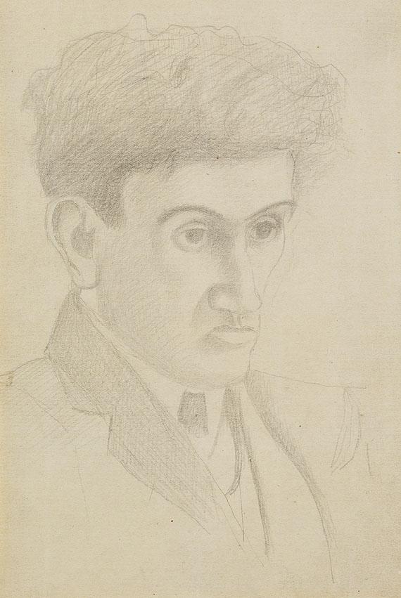 Fernand Léger - Portrait of Jean Epstein - Etude pour un portrait