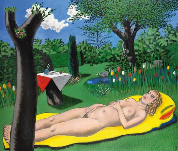 Wolfgang Mattheuer - Paradiesgarten, 98/6