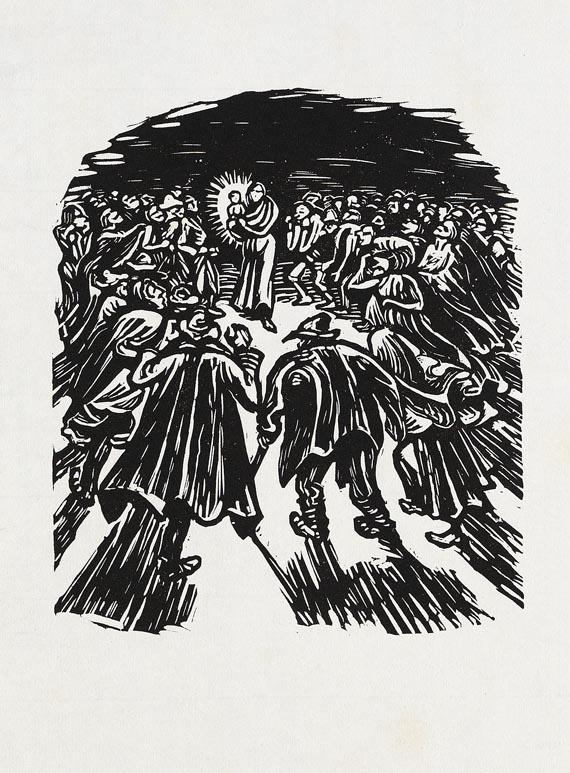 Ernst Barlach - 3 Bll.: Die Dome. Das Kind in der Glorie. Der Sternenrichter