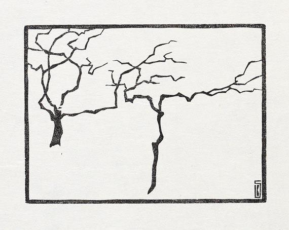 Karl Schmidt-Rottluff - Bäume im Winter