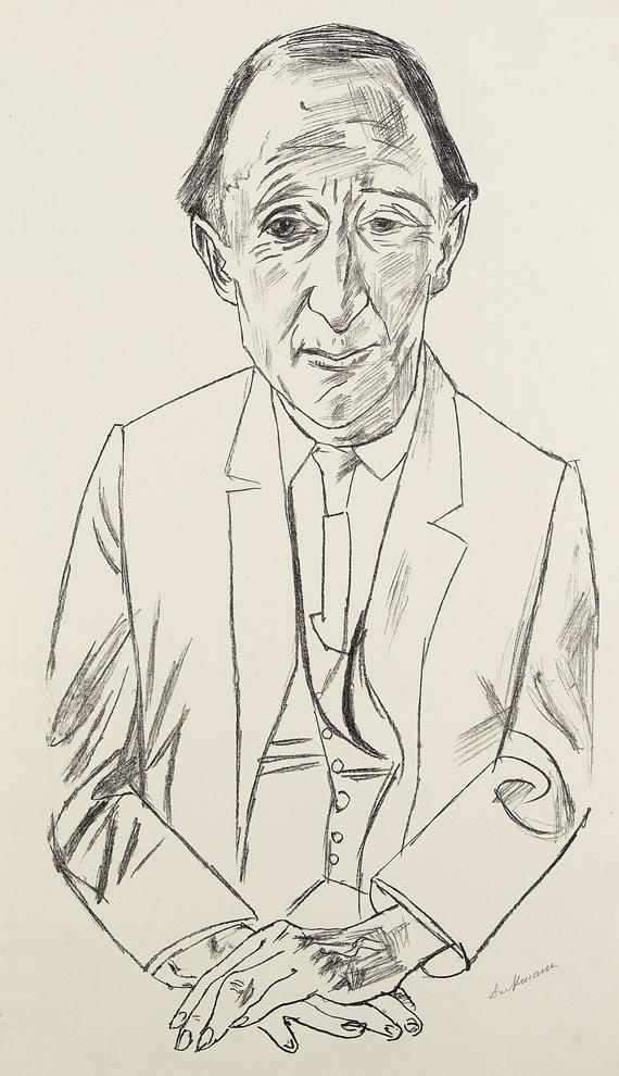 Max Beckmann - Bildnis des Komponisten Frederik Delius