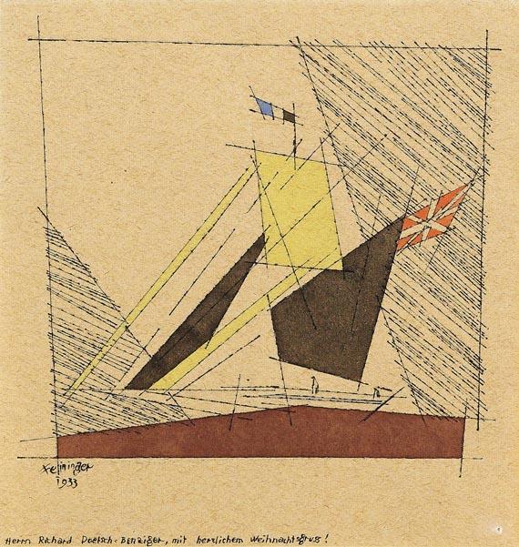 Feininger - Ohne Titel