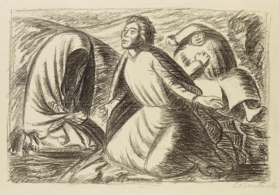 Ernst Barlach - Hoffnung und Verzweiflung II (Erleben)