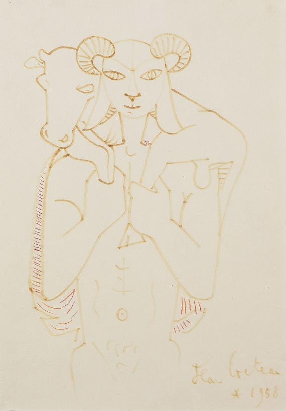 Jean Cocteau - Le Moscophore