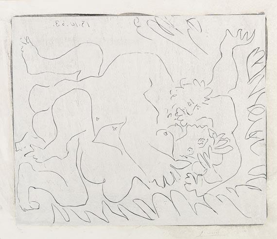 Pablo Picasso - L'Étreinte II