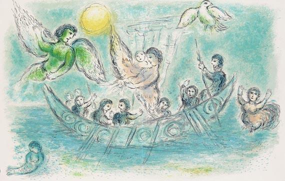Marc Chagall - Die Sirenen