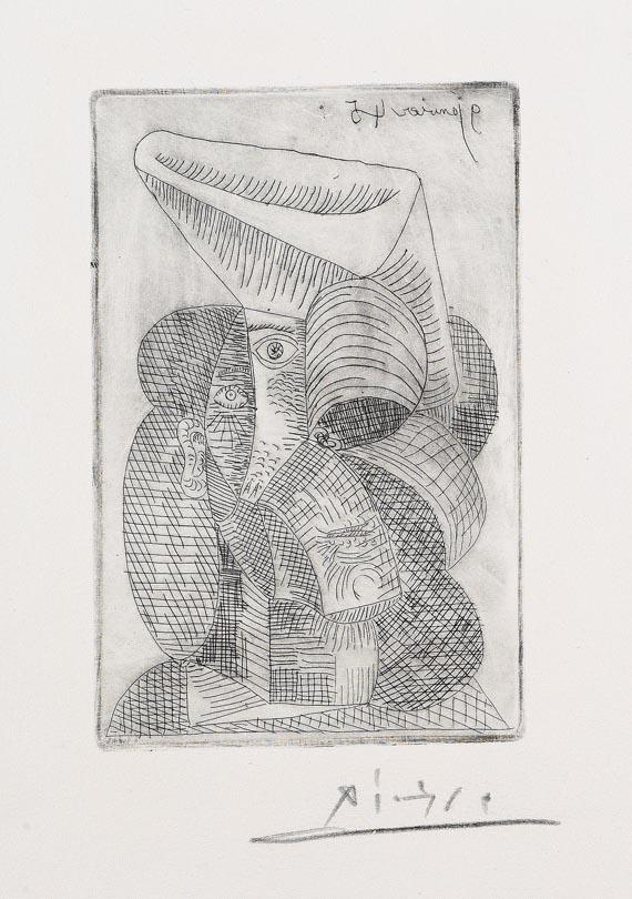 Pablo Picasso - Tête de Femme au Chapeau