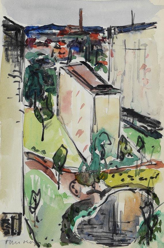 Norddeutsche Künstler - 3 Bll.: Kompositionen