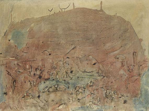 Heimrad Prem - Verbundener Berg (aus der Serie Steinläuse)