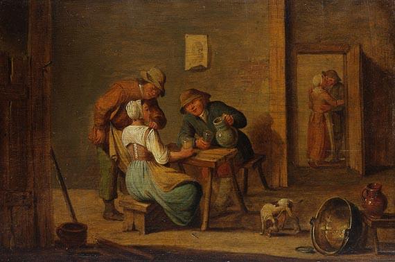 David Teniers (der Jüngere) - Nachfolge - Wirtshausszene
