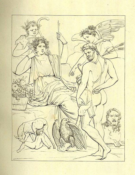 Museo Reale Borbonico - Raccolta de' piu belli ed interessanti Dipinti. 1851