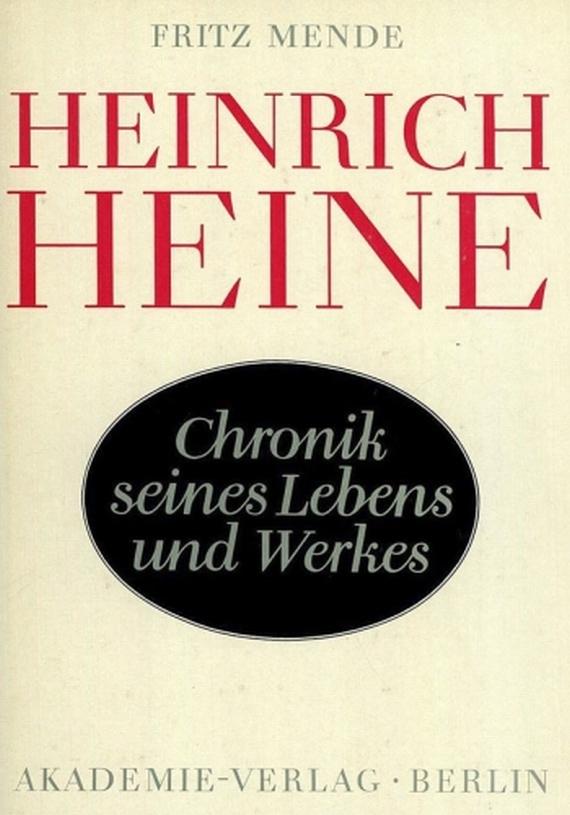 Heinrich Heine - Werke. 55 Bde. + 2 Beigaben. Säkularausg.