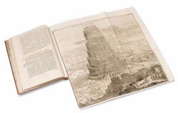 Athanasius Kircher - Turris Babel. 1679.