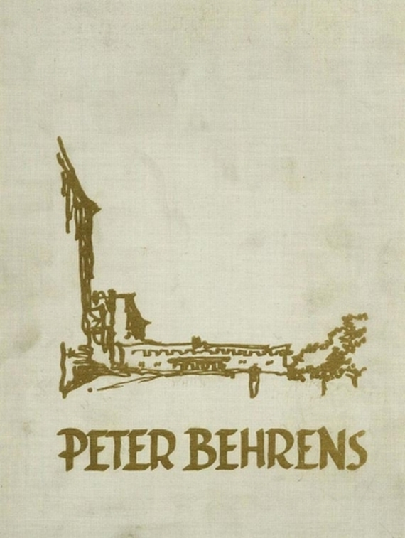 Peter Behrens - Cremers, P. J., Peter Behrens. 1928