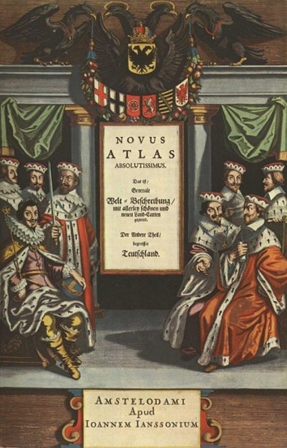 Johannes Janssonius - Novus Atlas Absolutissimus. 1977.