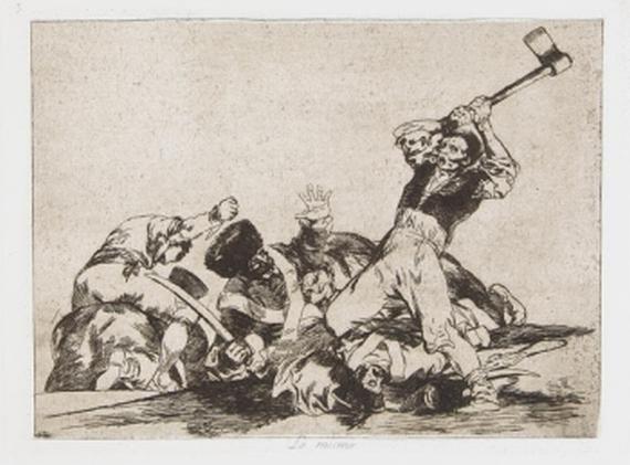 Francisco de Goya - Desastres de la Guerra. 1892