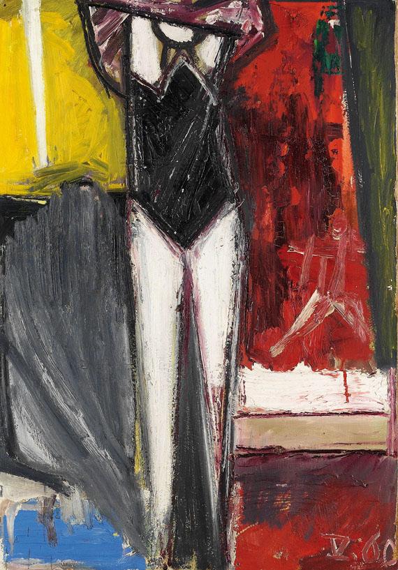 Gerhard Richter - Sich Ankleidende