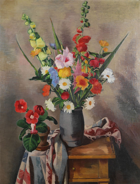 Georg Breitwieser - Großes Blumenstillleben