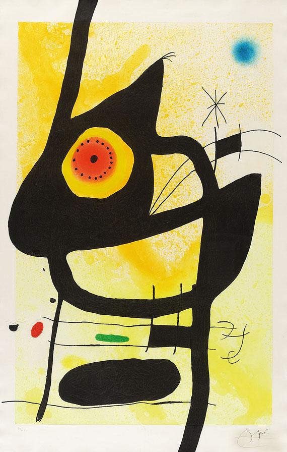 Joan Miró - La Femme des Sables
