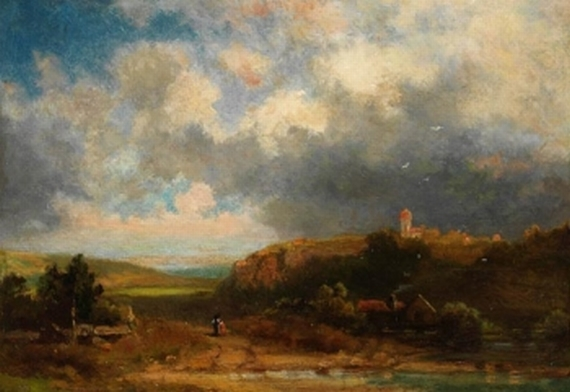 Carl Spitzweg - Fränkische Sommerlandschaft