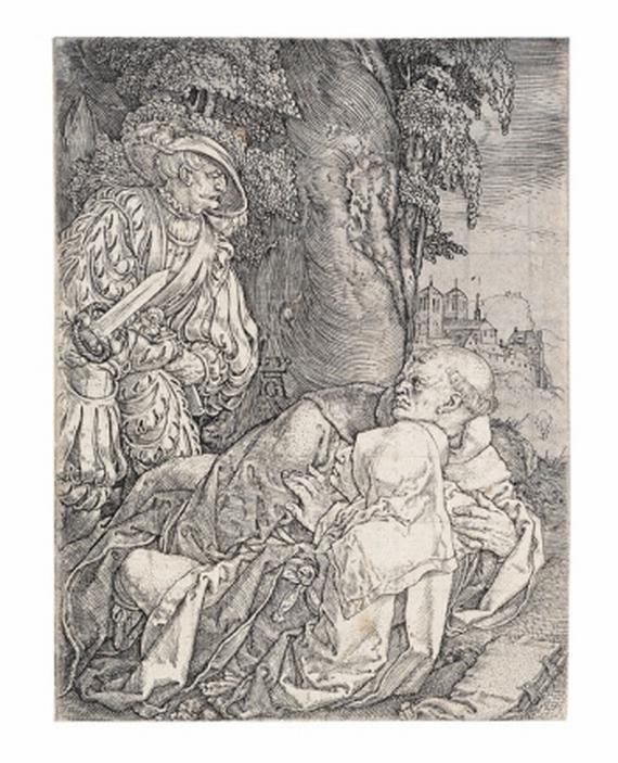 Heinrich Aldegrever - Mönch und Nonne