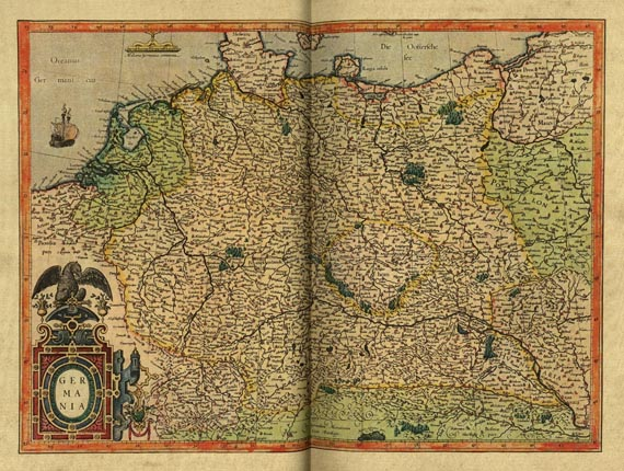 Gerard Mercator - Atlas. 1985