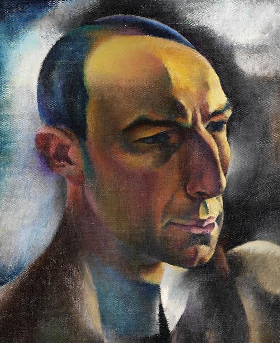 Hanns Bolz - Porträt des Kunsthändlers Alfred Flechtheim
