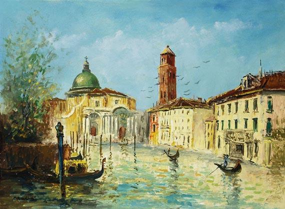 Paul Brachetti - Kanal in Venedig