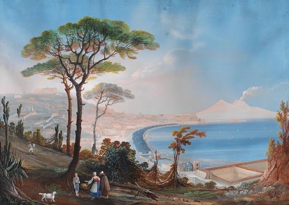 Jacob Philipp Hackert - Nachfolge - Die Bucht von Neapel