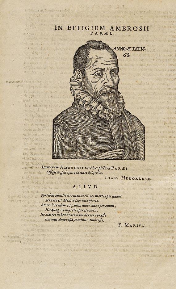 Ambrosius Paré - Opera chirurgica. 1594